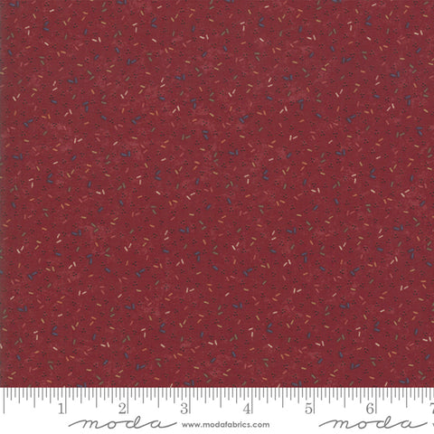 Kansas Trouble Favorites 2019 - Harvest Hill - Red - 9601-13 - Fabric is sold in 1/2 yard increments