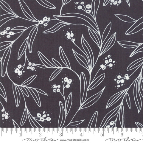 Little Tree - Lella Boutique - Mistletoe - Chalkboard - 5092-14 - Fabric is sold in 1/2 yard increments