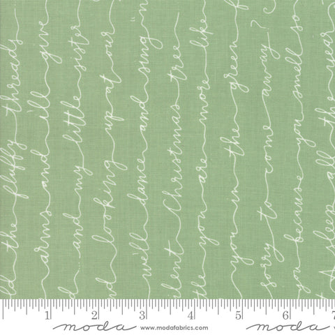 Little Tree - Lella Boutique - Poem - Pine - 5093-12 - Fabric is sold in 1/2 yard increments