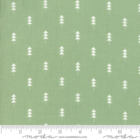Little Tree - Lella Boutique - Little Trees - Pine - 5094-12 - Fabric is sold in 1/2 yard increments