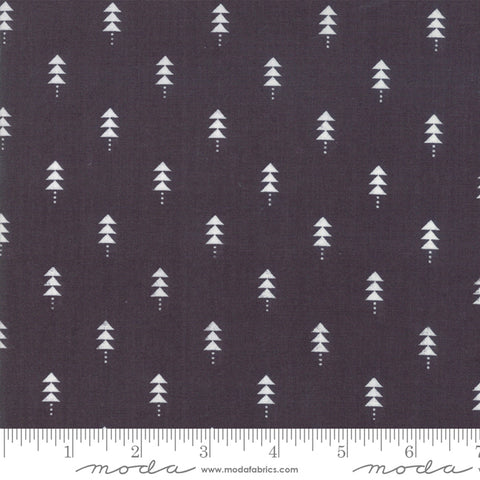 Little Tree - Lella Boutique - Little Trees - Chalkboard - 5094-14 - Fabric is sold in 1/2 yard increments