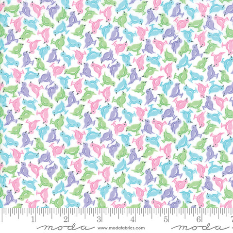 Good Day - Me and My Sister - Tweet Tweet - 22374-21 - Fabric is sold in 1/2 yard increments