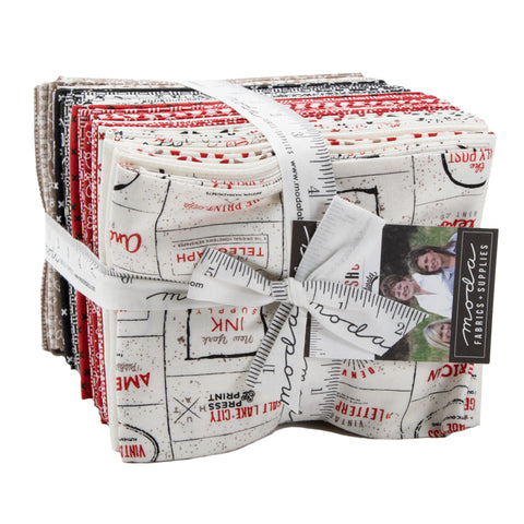 The Print Shop Fat Quarter Bundle - Sweetwater - 5410AB
