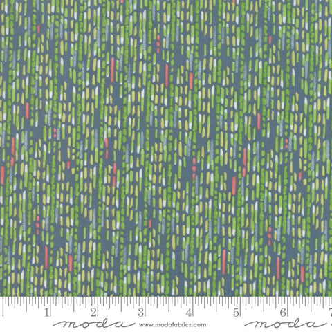 Painted Meadow - Robin Pickens - Watercolor Stripe - Teal - 48664-12 - Fabric is sold in 1/2 yard increments