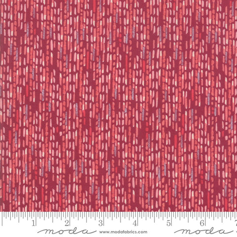 Painted Meadow - Robin Pickens - Watercolor Stripe - Burgundy - 48664-19 - Fabric is sold in 1/2 yard increments