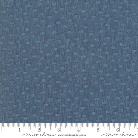 Painted Meadow - Robin Pickens - Dots - Teal - 48665-12 - Fabric is sold in 1/2 yard increments