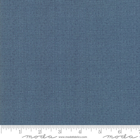 Painted Meadow - Robin Pickens - Texture - Teal - 48626-52 - Fabric is sold in 1/2 yard increments