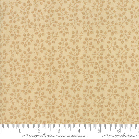 Milestones - Kansas Trouble - Tonal Tan - Branching Out - 9613-21 - Fabric is sold in 1/2 yard increments