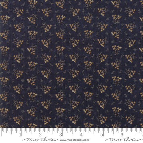 Milestones - Kansas Trouble - Navy - Balance - 9615-14 - Fabric is sold in 1/2 yard increments