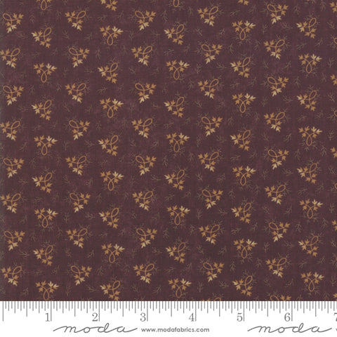 Milestones Fabric - Kansas Trouble - Purple - Balance - 9615-16 - Fabric is sold in 1/2 yard increments