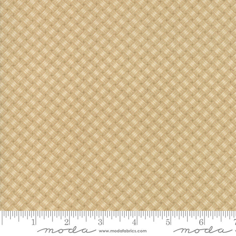 Milestones - Kansas Trouble - Tan - Woven Memories - 9616-11 - Fabric is sold in 1/2 yard increments