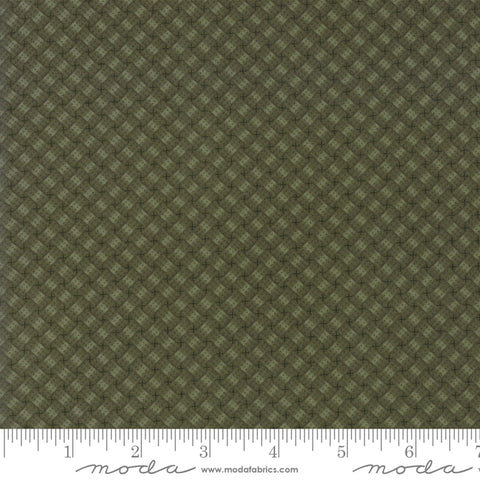 Milestones - Kansas Trouble - Green - Woven Memories - 9616-15 - Fabric is sold in 1/2 yard increments