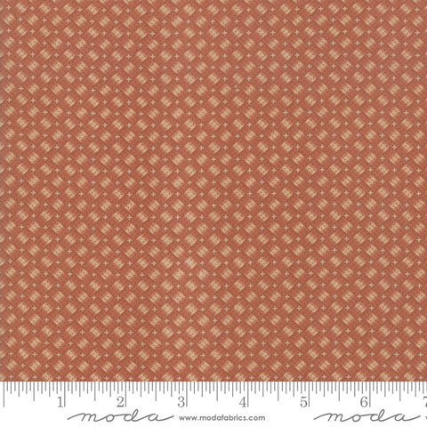 Milestones - Kansas Trouble - Orange - Woven Memories - 9616-17 - Fabric is sold in 1/2 yard increments