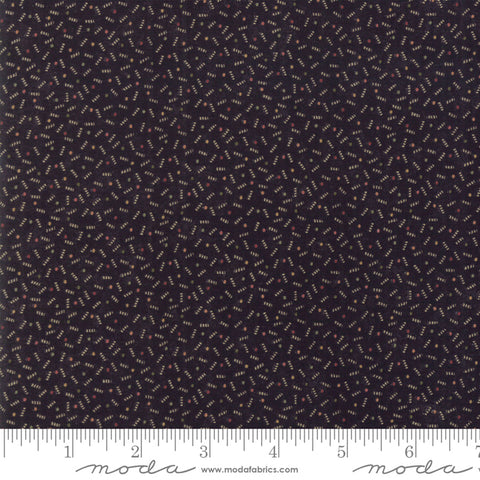 Milestones - Kansas Trouble - Black - Ups N Down - 9617-19 - Fabric is sold in 1/2 yard increments