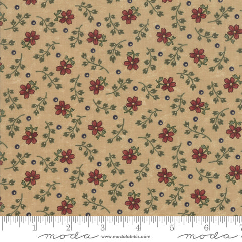 Milestones - Kansas Trouble - Tan - Autumn Years - 9618-11 - Fabric is sold in 1/2 yard increments