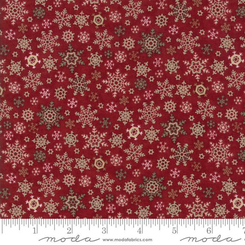 Once Upon A Memory - Holly Taylor - Snowflakes - Crimson - 6735-15