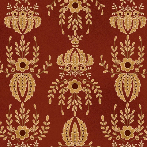 Farmstead Harvest - Kim Diehl - Ruby Damask - 6943-88