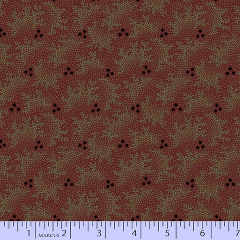 Pieceful Pines - Burgundy Northern Lights - Pam Buda - R17-8209-0111