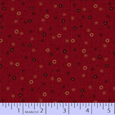 Pieceful Pines - Red Snowfall - Pam Buda - R17-8211-0111
