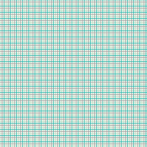 Farm Girl Vintage - Lori Holt - Plaid - C7881-Vivid - Fabric is sold in 1/2 yard increments
