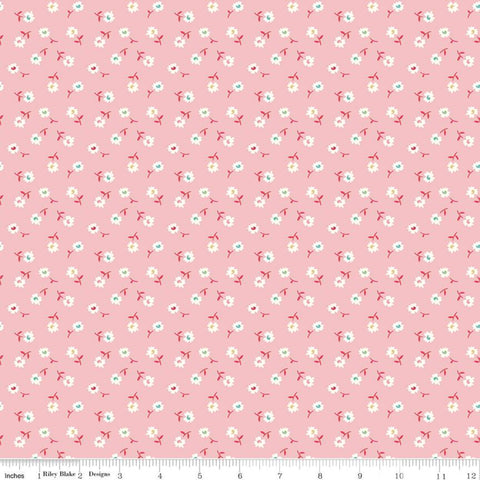 Vintage Happy 2 - Lori Holt - Daisy - Frosting - C9137-Frosting - Fabric is sold in 1/2 yard increments