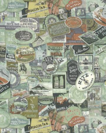 Eclectic Elements - Tim Holtz - Travel Labels - PWTH009.8MULT