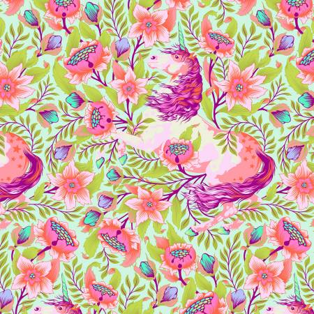 Pinkerville - Tula Pink - Imaginarium - Cotton Candy - PWTP127-COTT - Fabric is sold in 1/2 yard increments