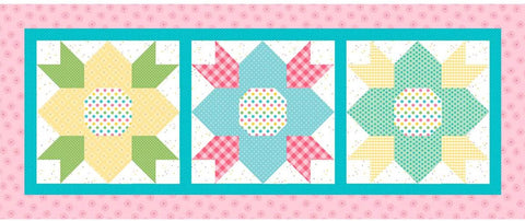 May Blossoms Table Runner Kit - Riley Blake