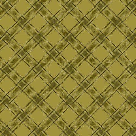 Farmstead Harvest - Kim Diehl - Green Plaid - 6946-66