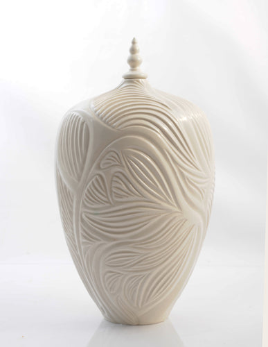 Ivory Temple Vessel product_type Natalie Blake Studio Shop