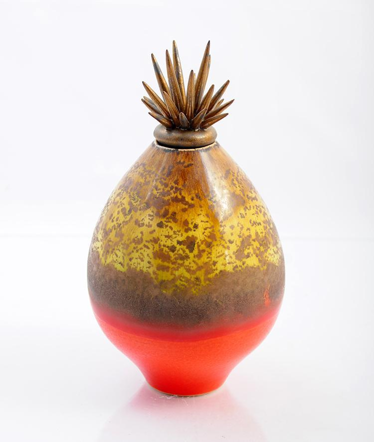 Little Hot Lava Vessel product_type Natalie Blake Studio Shop