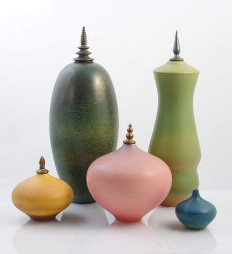 Polychrome Gems Vessel Quintette product_type Natalie Blake Studio Shop