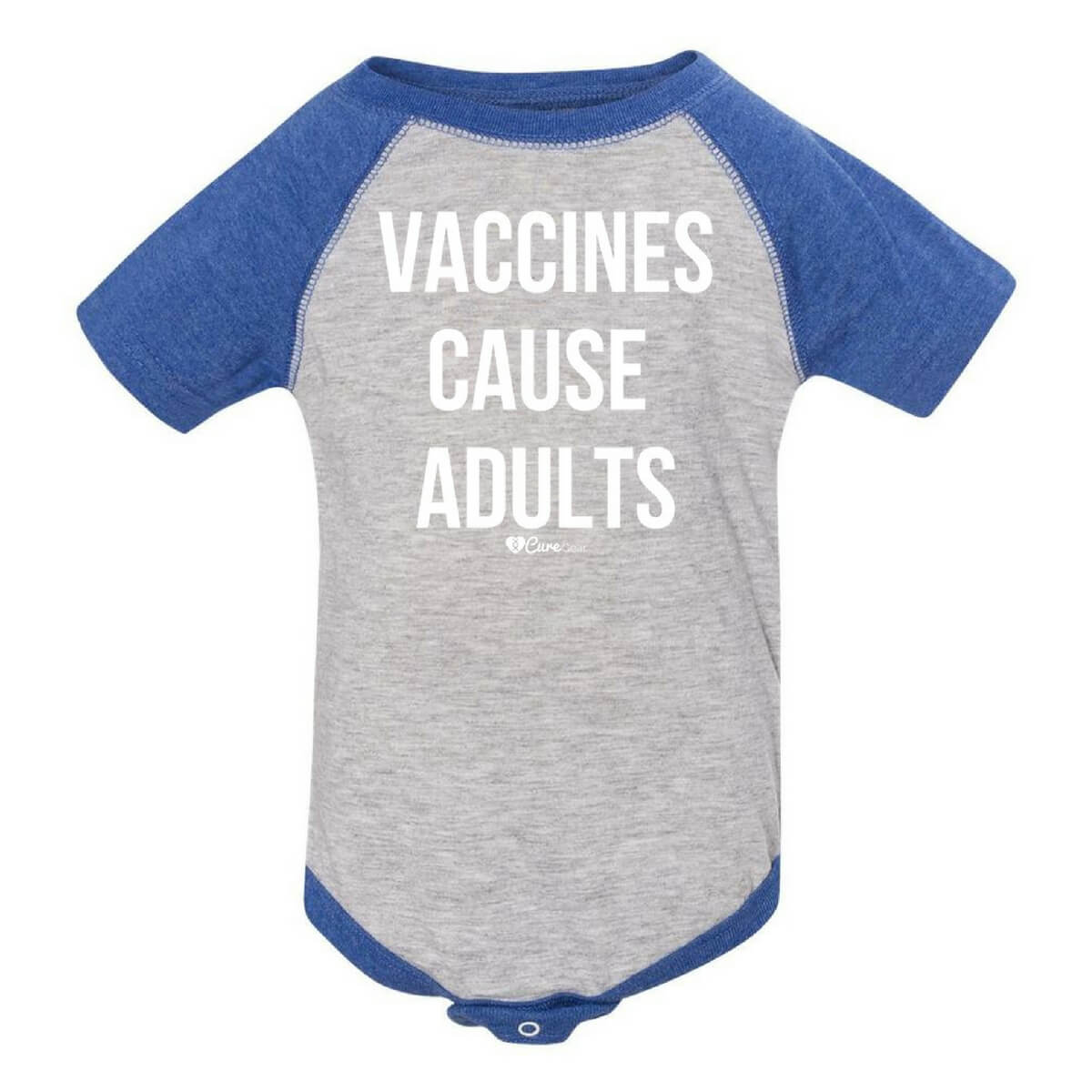 Vaccines Cause Adults Baby Onesie