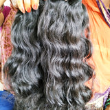"26"" inch wavy hair 1 bundle"