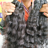 "22"" inch Curly hair 1 bundle"
