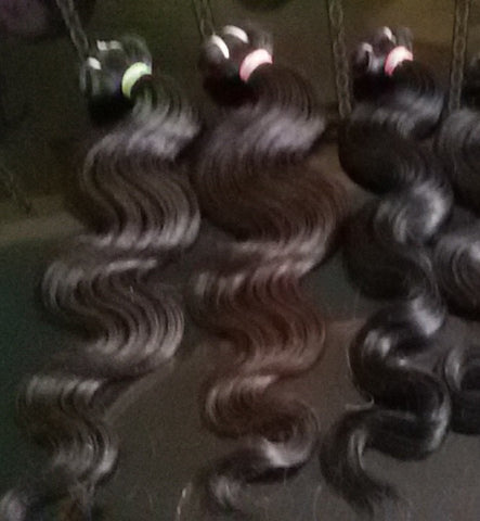 "14"" 16"" 18"" inches Bodywave hair 3 bundles deal"