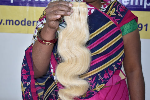 "20"" inch Blonde Bodywave hair 1 bundle"