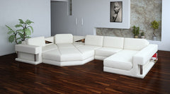Divani Casa 2315 - Modern Bonded Leather Sectional Sofa