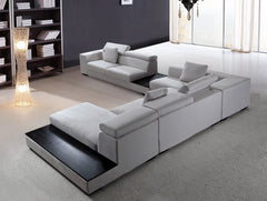 Modern Modular Fabric Sectional Sofa