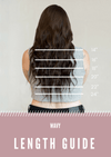 Ocean Wave Wefts - Woven Hair