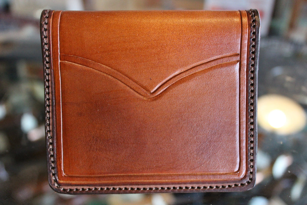 Minimal Handtooled Wallet