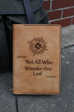 Wander lost Leather Journal