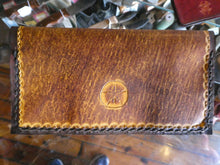 Hand Stitched Checkbook Cover
