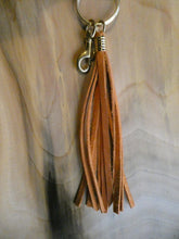 Leather Tassels with Brass Hardware