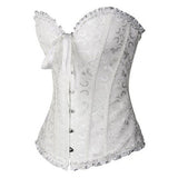 Goth Steampunk Lace Up Corset