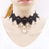 Selection of Vintage Gothic Choker Necklaces