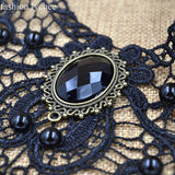Goth Punk Style Choker Necklace