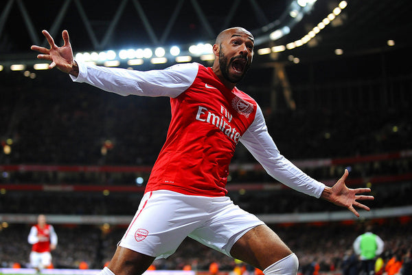 Henry Arsenal The Legend Soccer 24x36 Poster