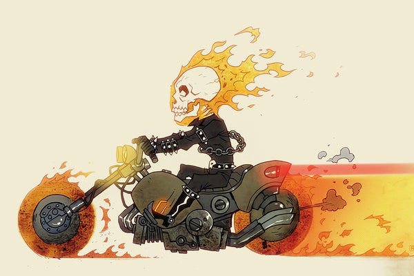 Ghost Rider Comics Poster