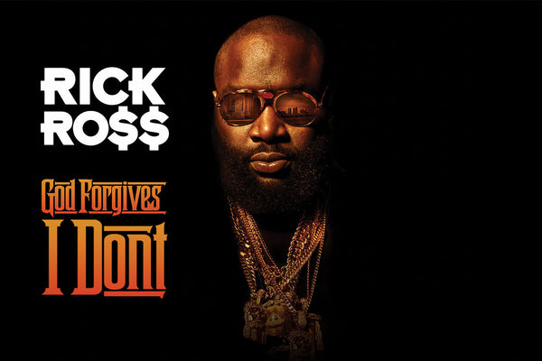Rick Ross Rapper Poster